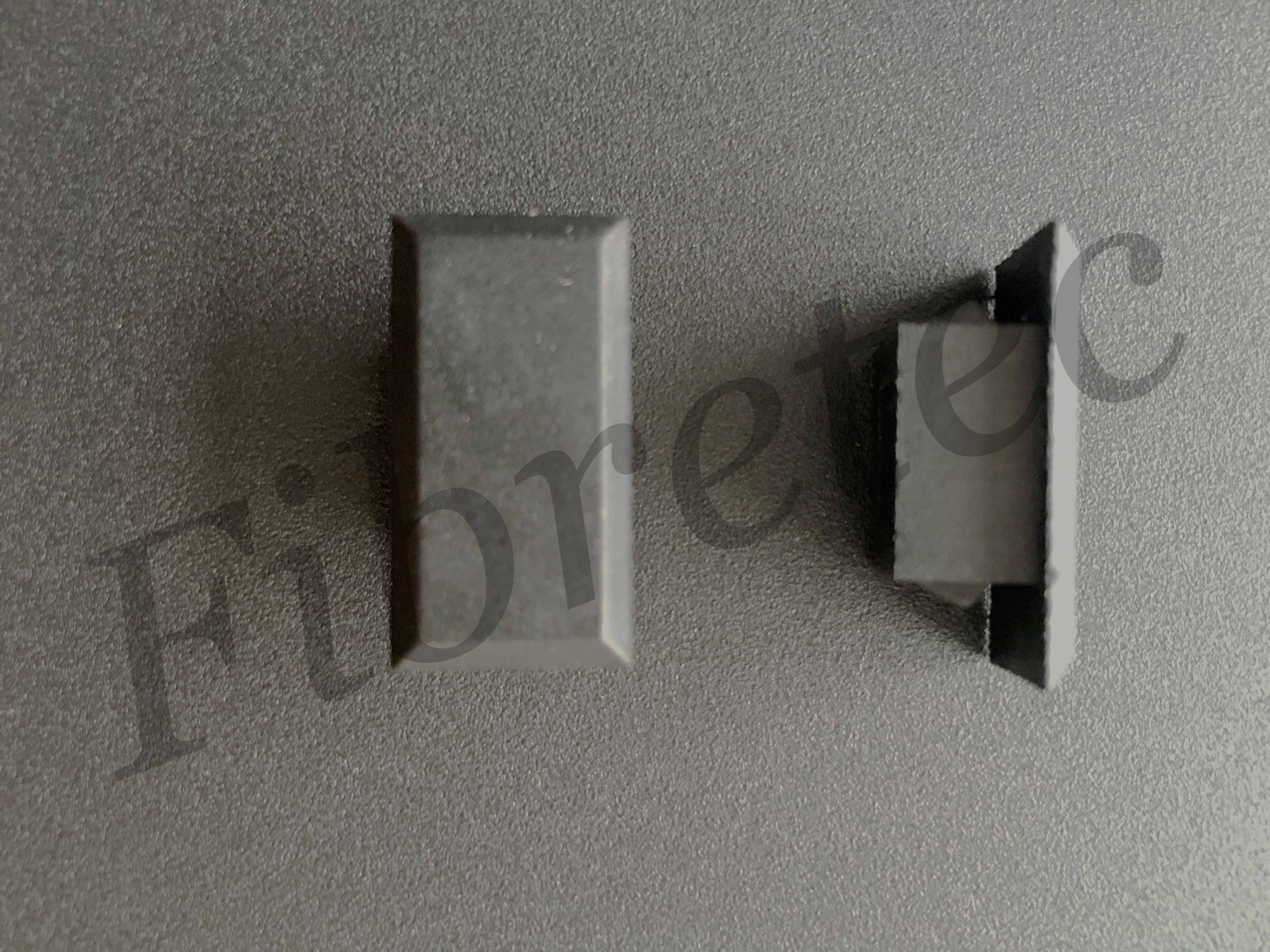 Obturateurs pour empreintes LC duplex / SC simplex