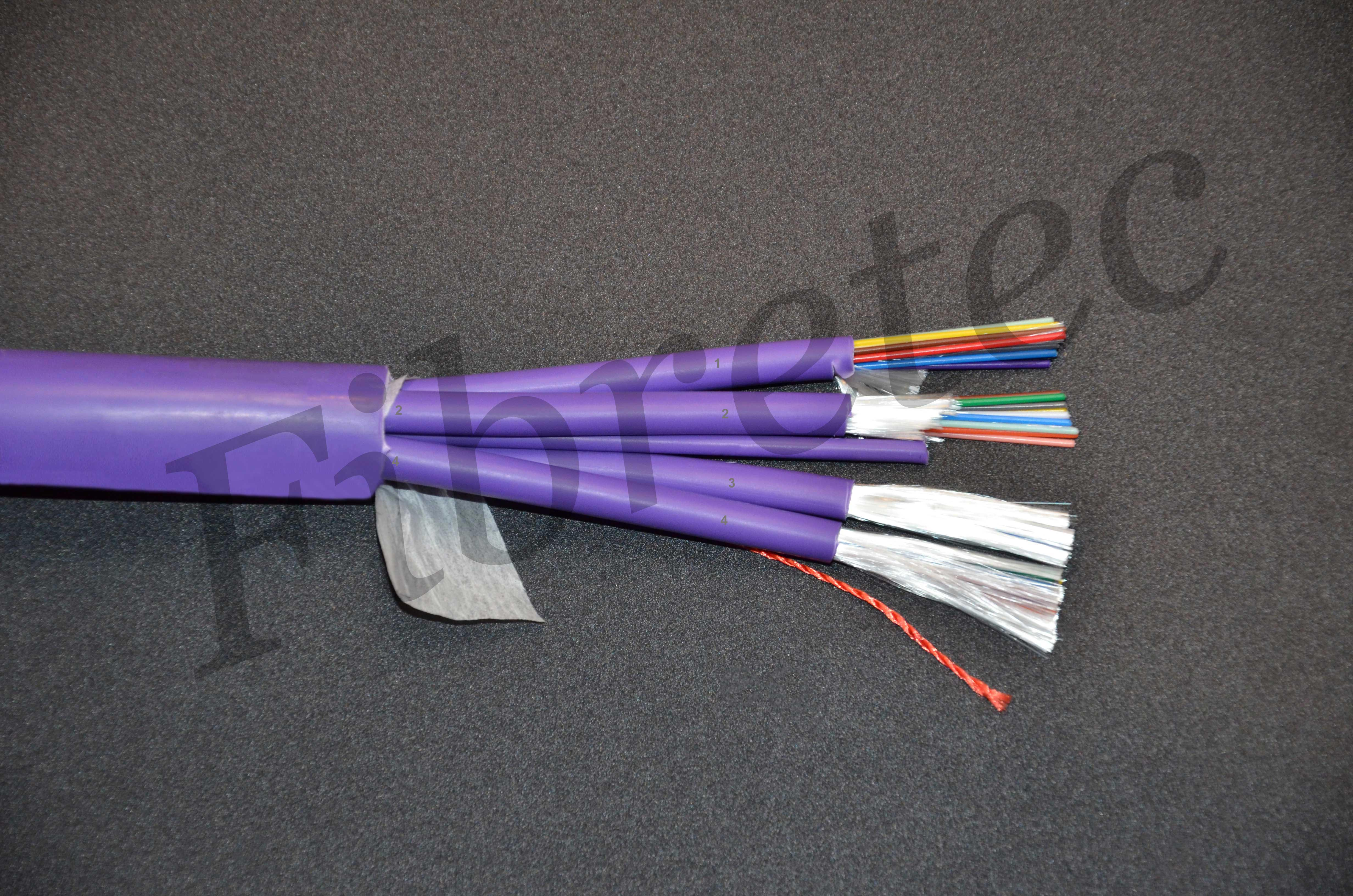 Câble Fiberstar int/ext 48 FO 50/125 OM3 LSZH, à structure serrée 900µm