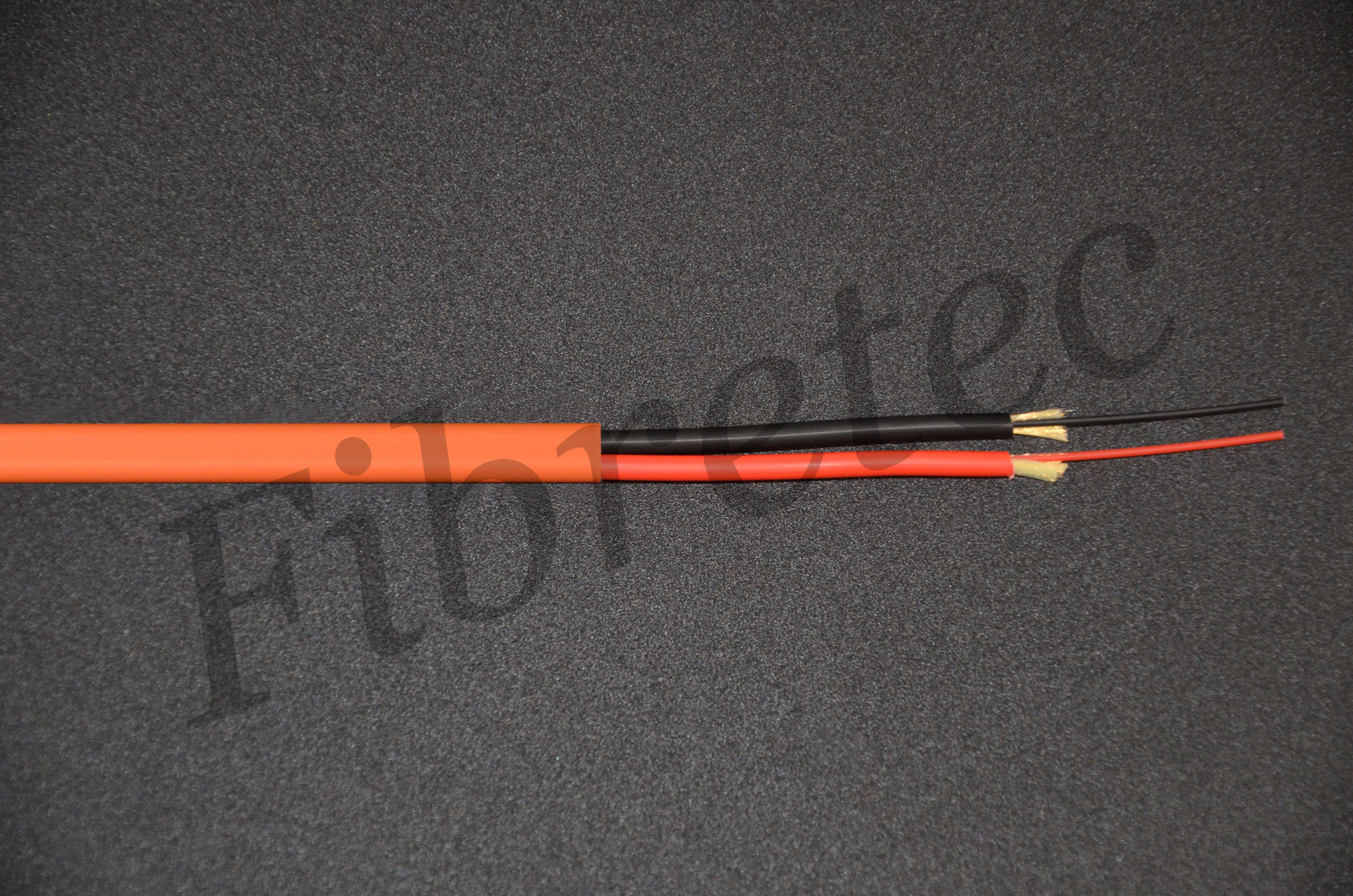 Câble Fiberstar surgainé 2 FO 62,5/125 OM1 orange LSZH