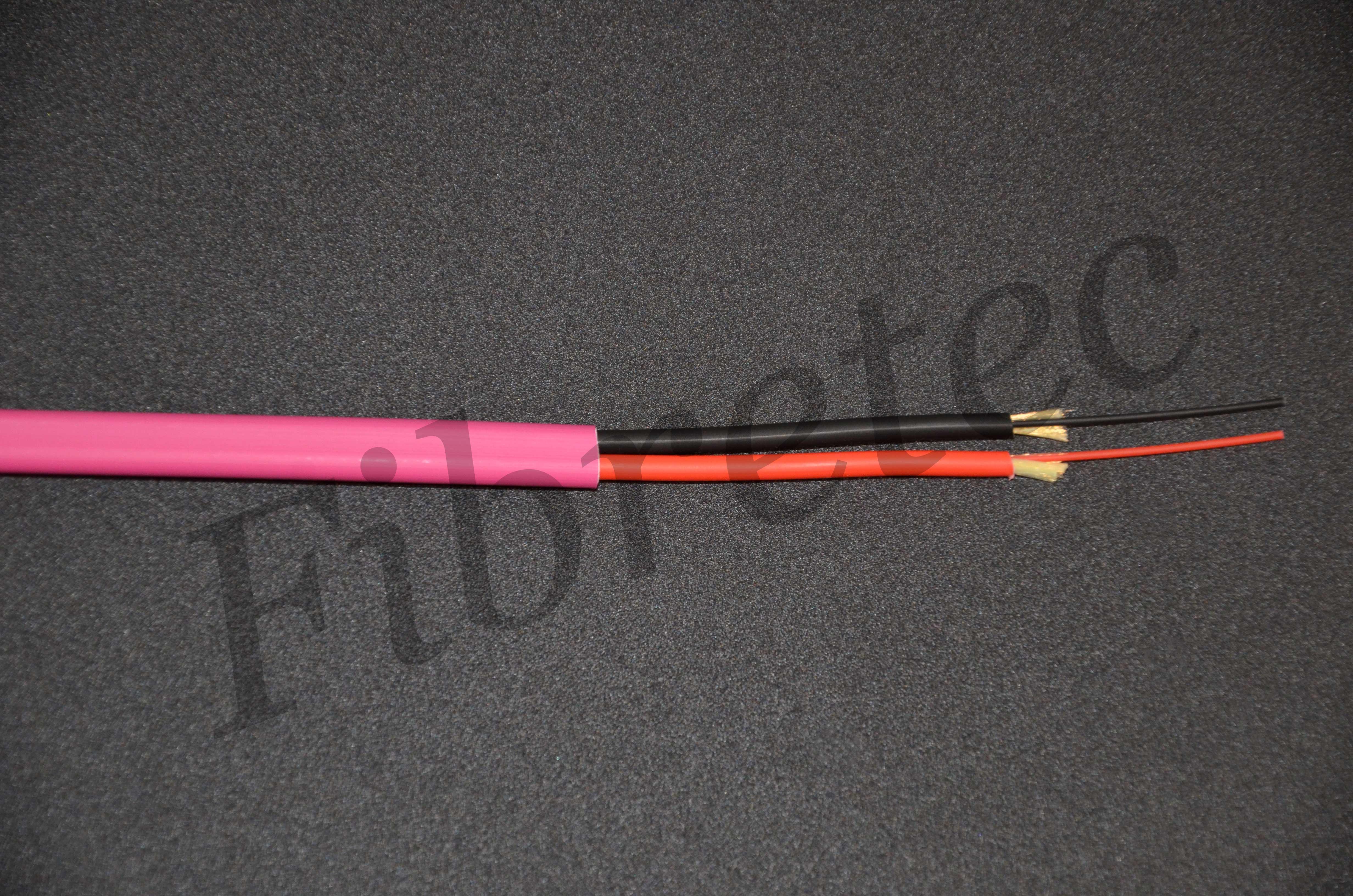 Câble Fiberstar surgainé 2 FO 50/125 OM4 érika violet LSZH