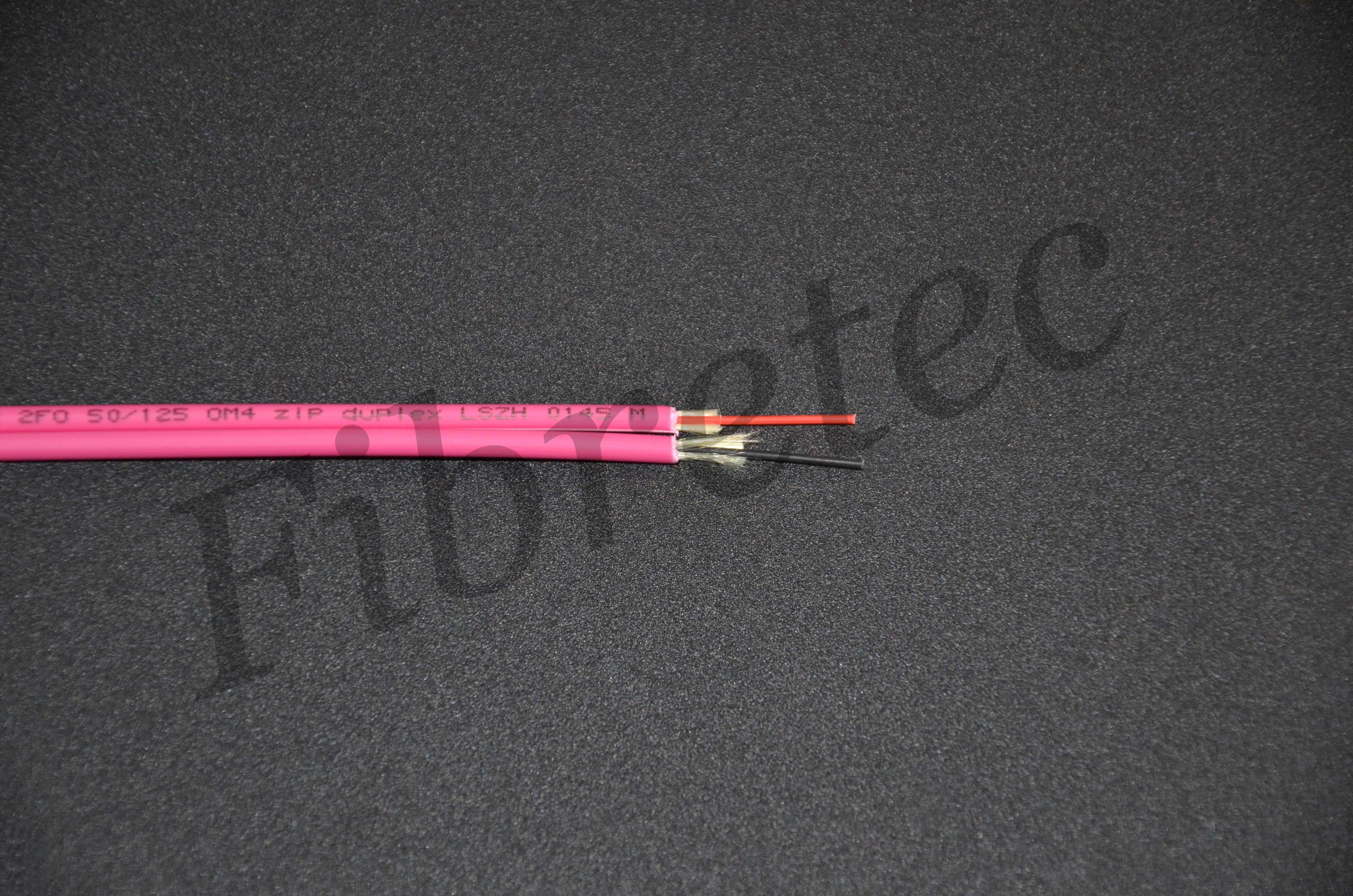 Câble Fiberstar duplex 2 FO zip 50/125 OM4 LSZH