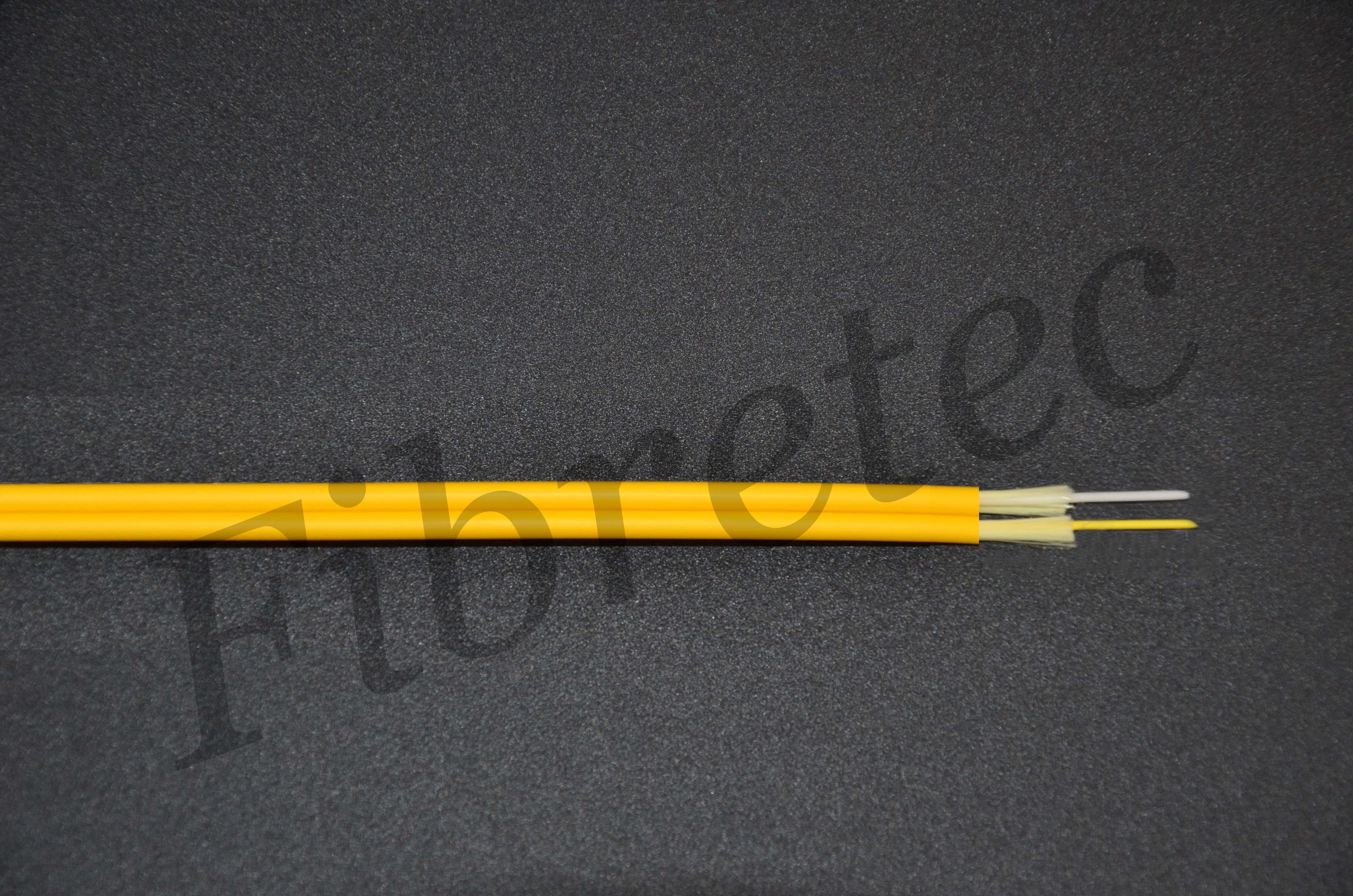 Câble Fiberstar duplex 2 FO zip 9/125 OS2 G652D LSZH