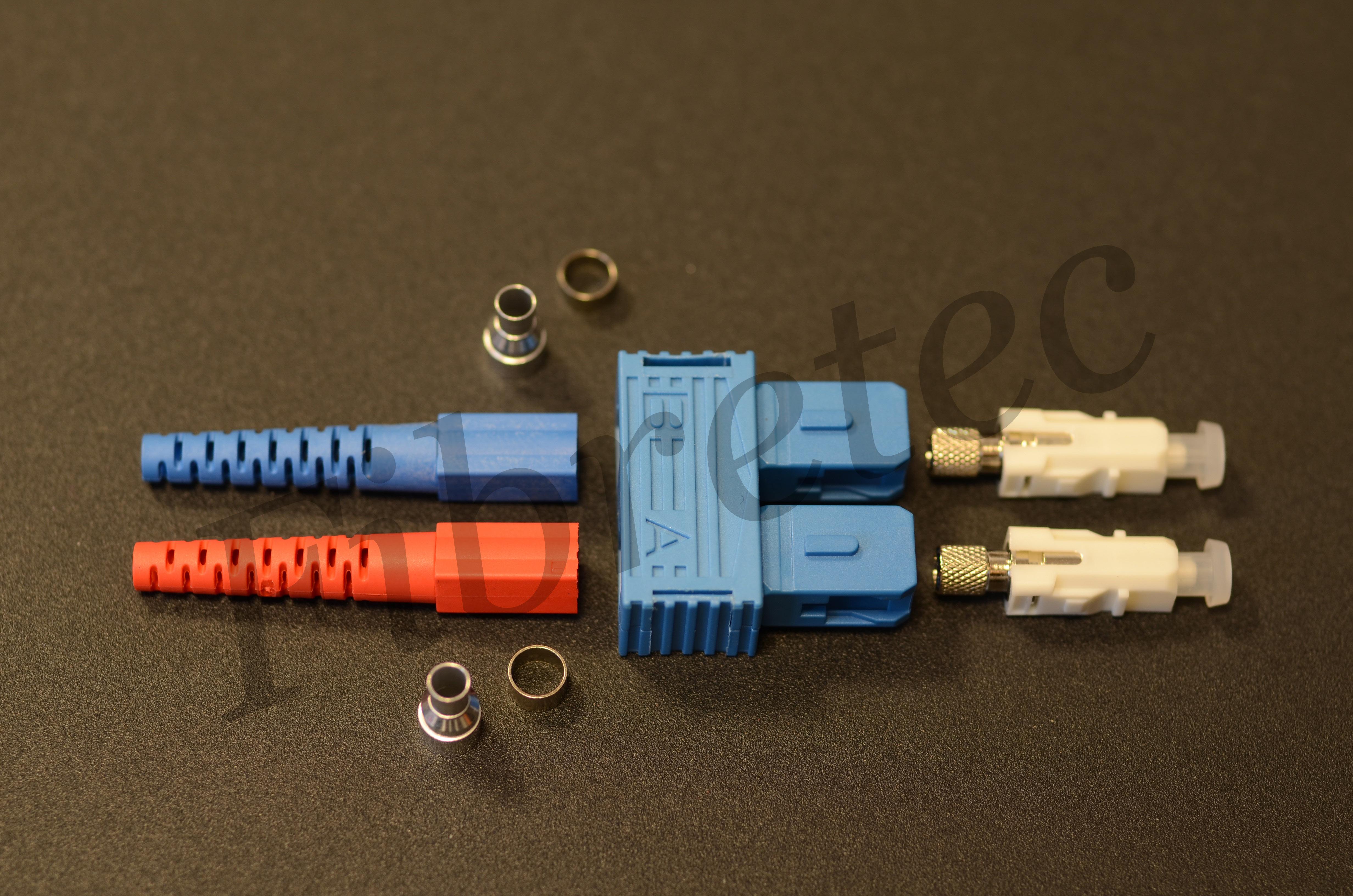 Connecteur SC duplex monomode pour fibre 3mm