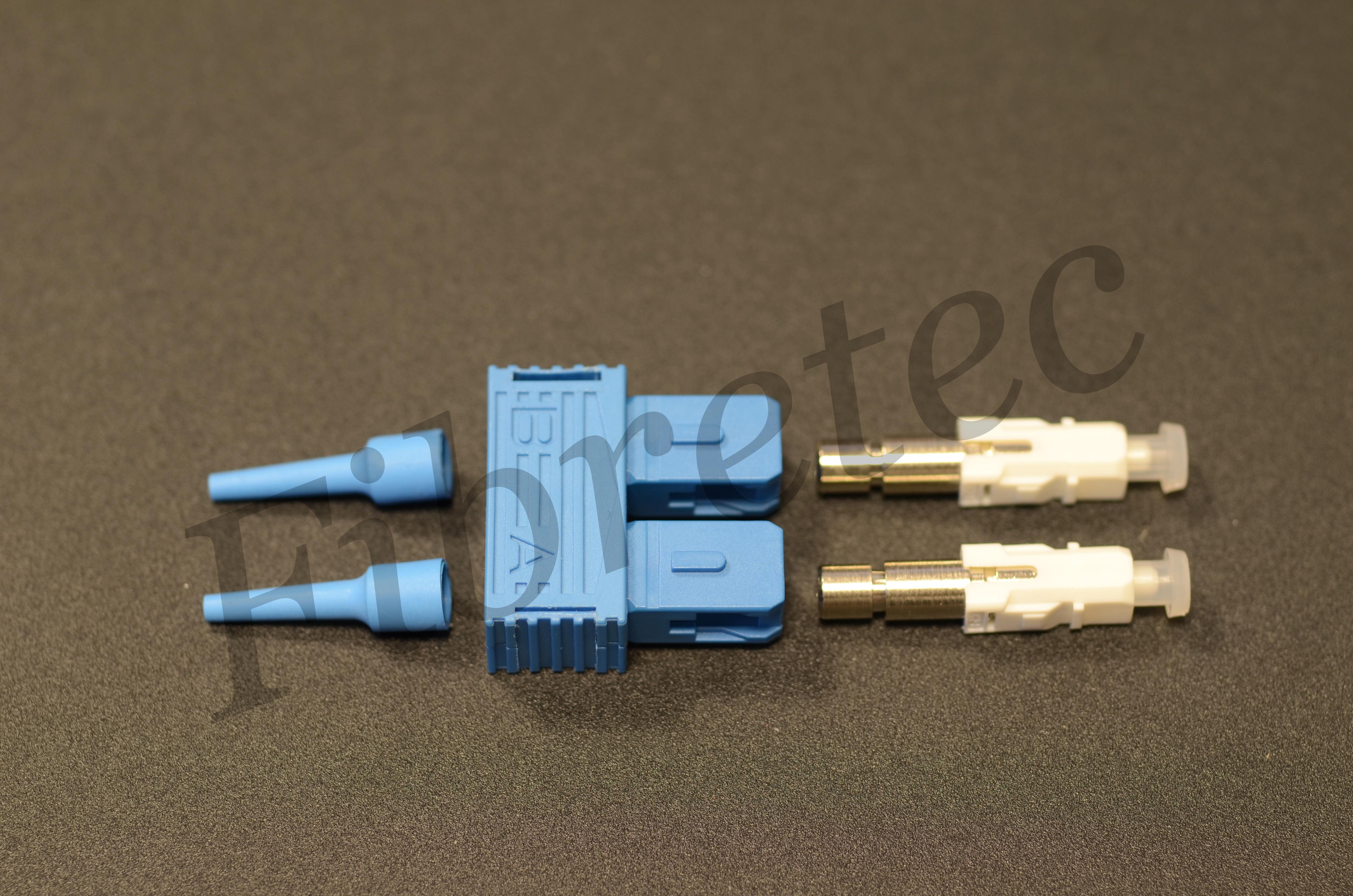 Connecteur SC duplex monomode pour fibre 900 µm