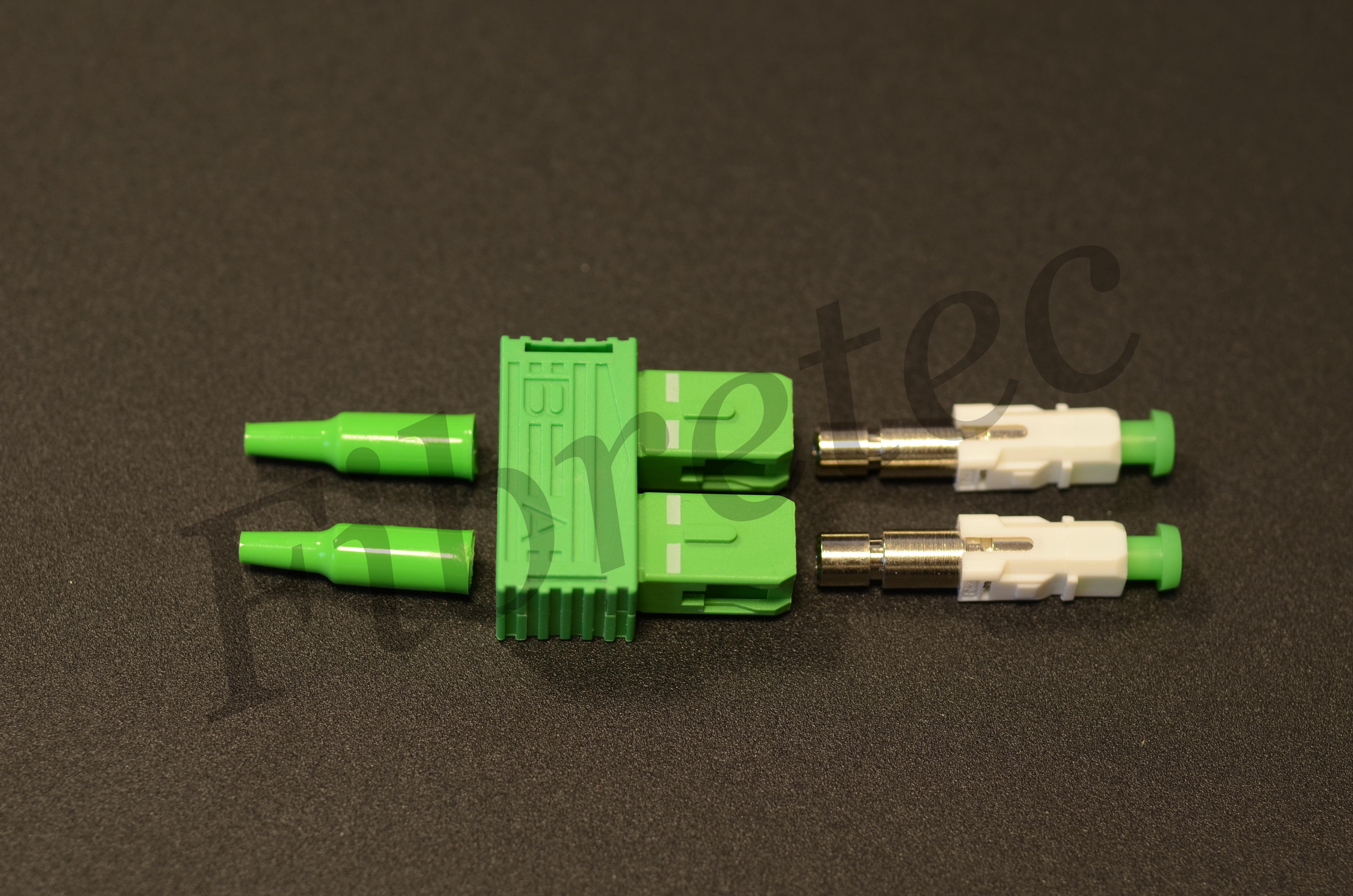 Connecteur SCAPC duplex monomode pour fibre 900 µm