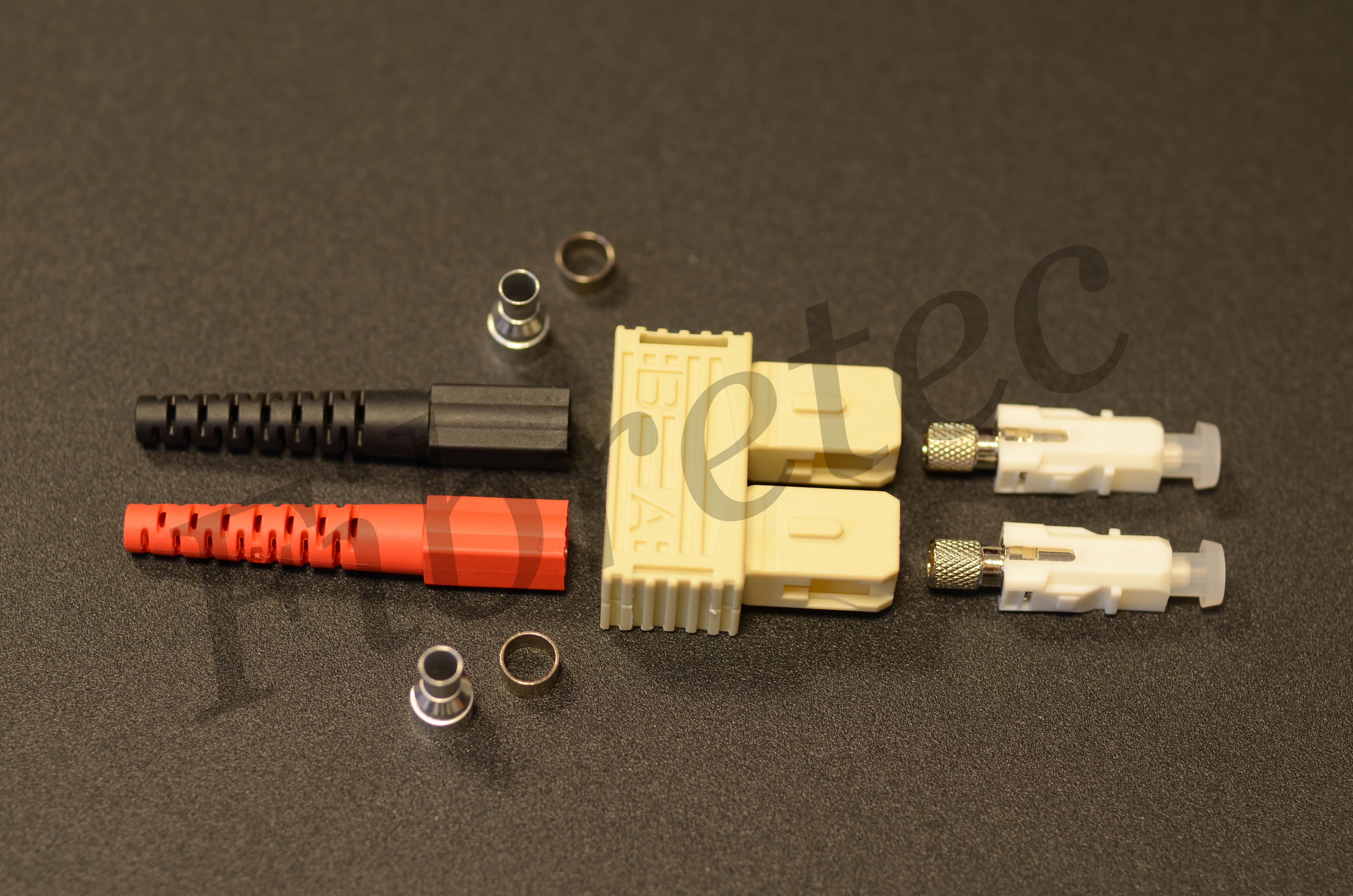 Connecteur SC duplex multimode pour fibre 3 mm