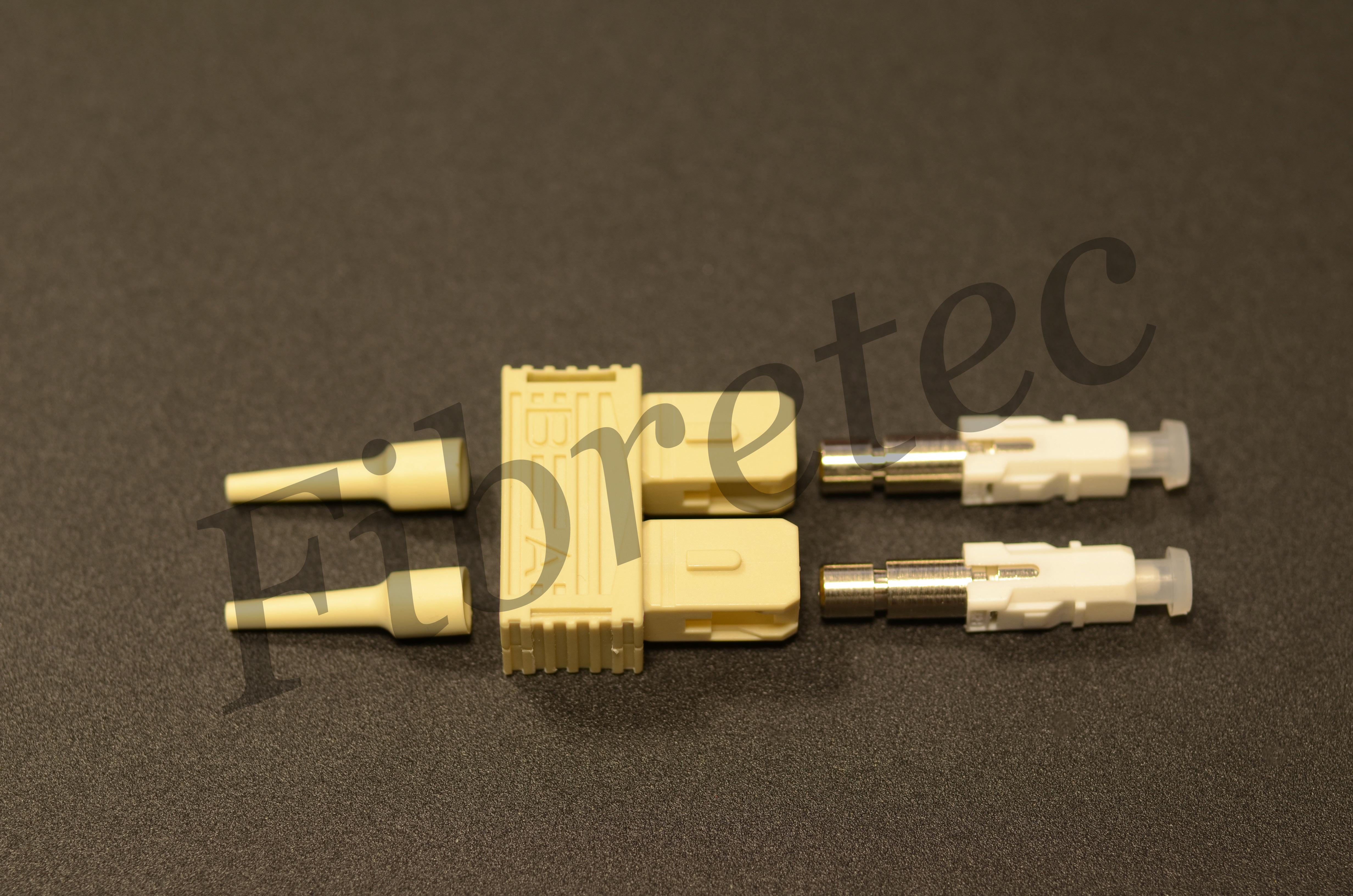Connecteur SC duplex multimode pour fibre 900 mm