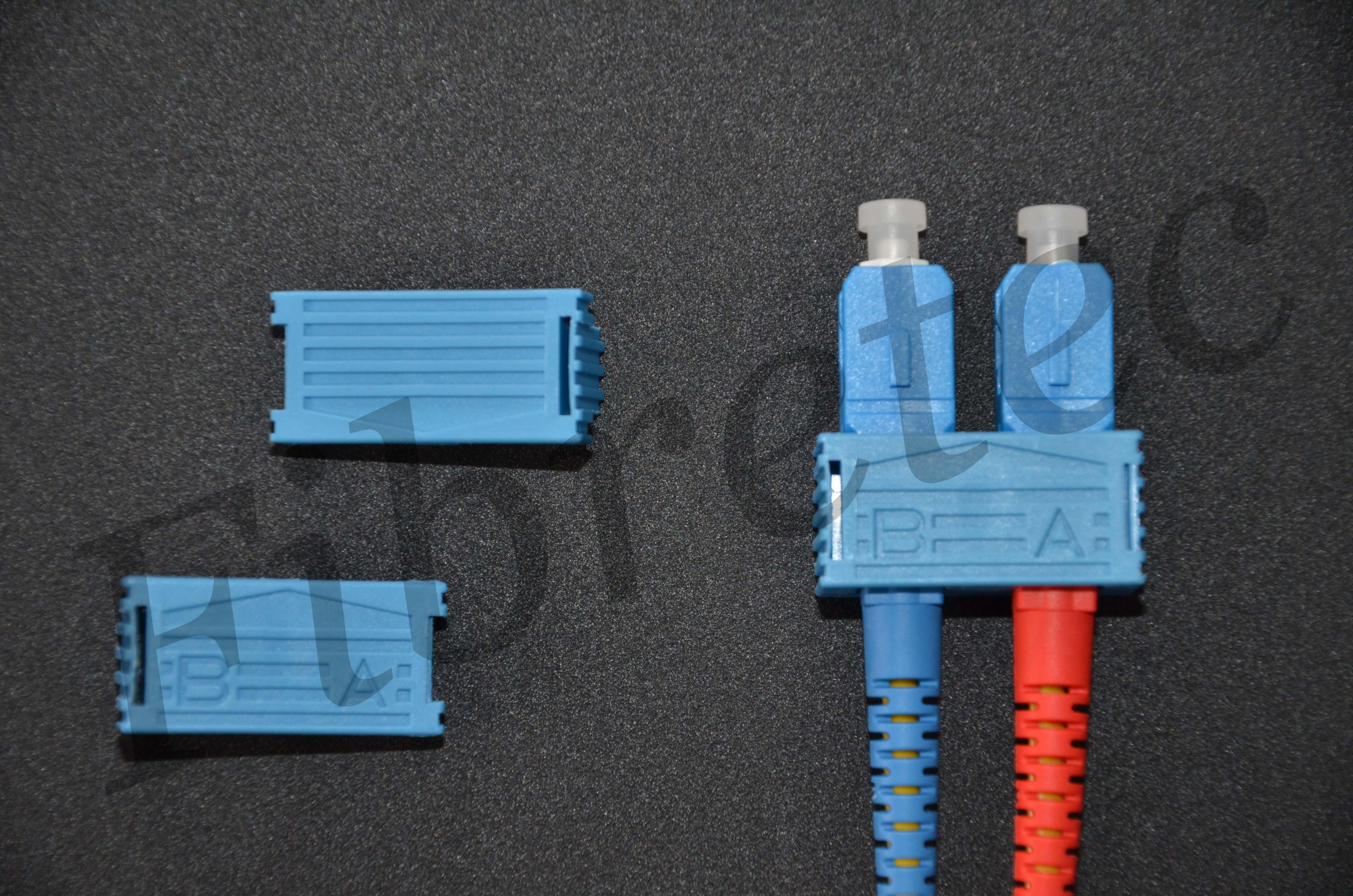 Bracelets d'accouplement pour connecteurs SC monomode