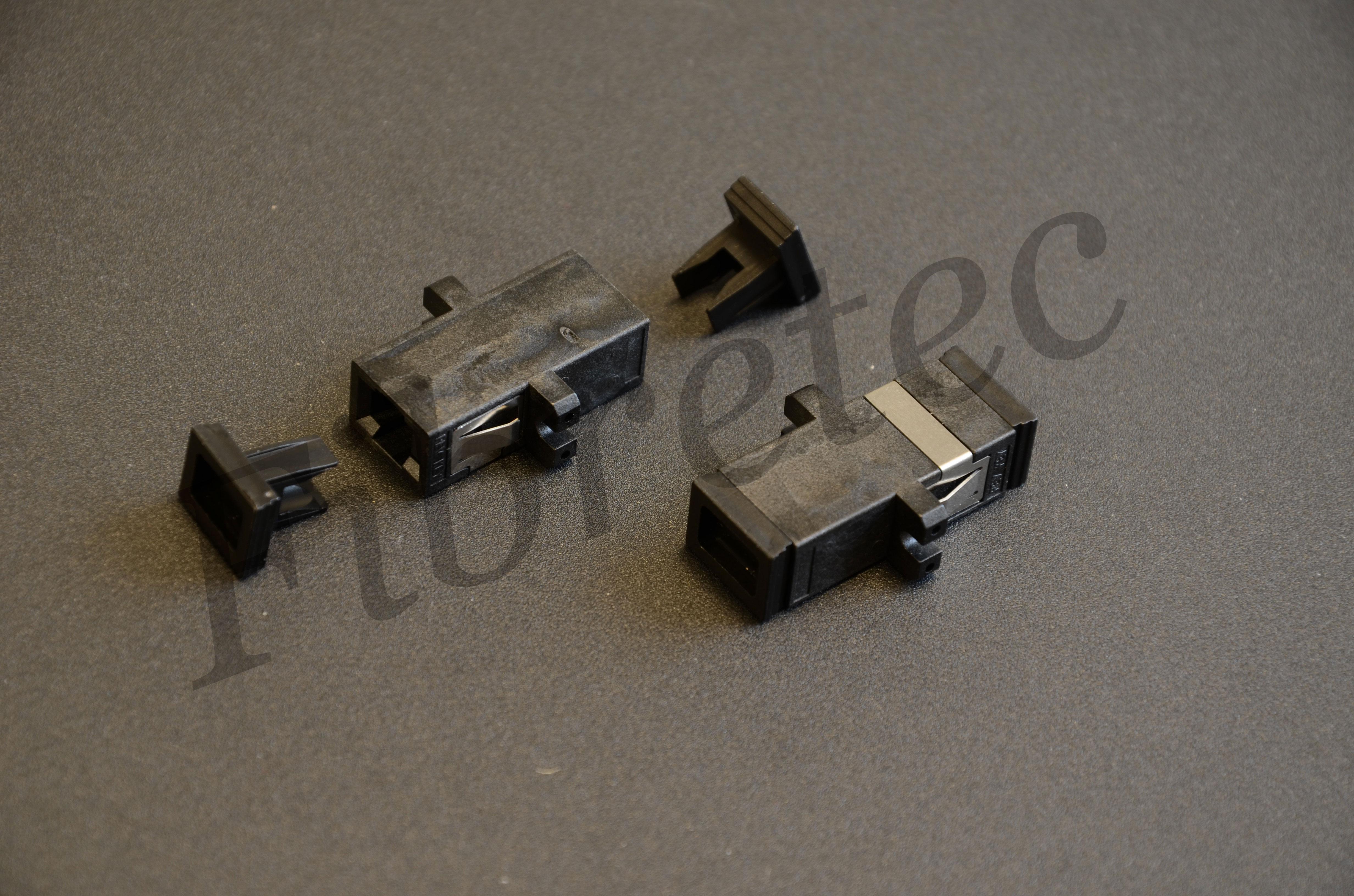 Traversée optique MTRJ/MTRJ duplex multimode